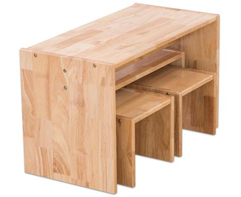 Holz-Sitzgruppe 4-teilig-3