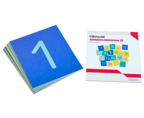 Zahlenraum 20 - Spielplane und Karten-3