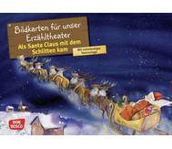 Bildkarten: Als Santa Claus mit dem Schlitten kam