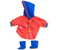 Puppenkleidung Regenmantel und Stiefel