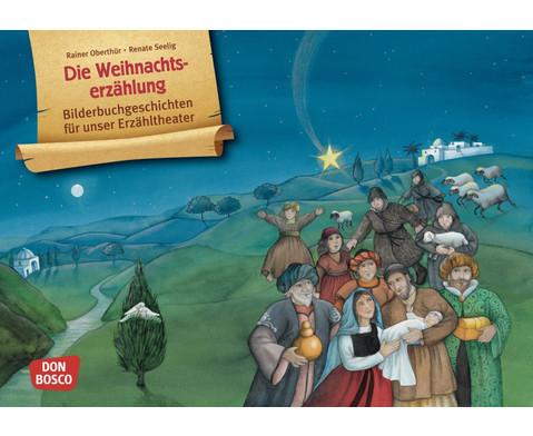 Bildkarten Die Weihnachtserzaehlung