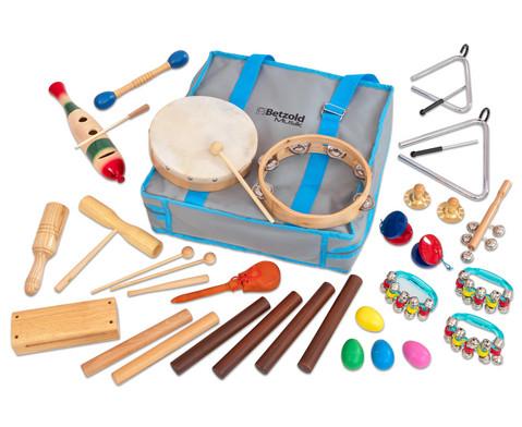 Rhythmik-Tasche mit 26 Instrumenten