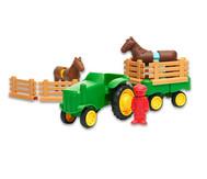 Riesen-Magnet-Bauteile, Traktor-Set, 21-teilig