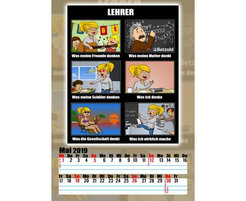 Cartoon-Kalender fuer Lehrer und Lehrerinnen-5
