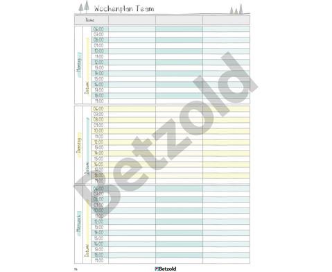 Betzold Design Kita-Planer Ringbuch DIN A4 Plus-12