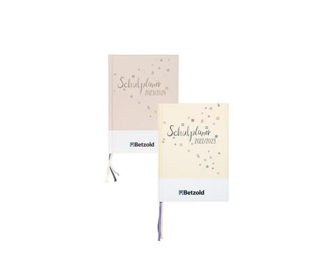 Betzold Design-Schulplaner 2019-2020 Hardcover DIN A5-1