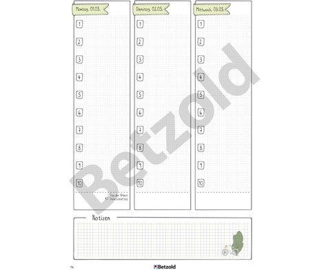 Betzold Design-Schulplaner 2019-2020 Hardcover DIN A5-6