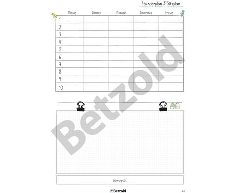 Betzold Design-Schulplaner 2019-2020 Hardcover DIN A5-15