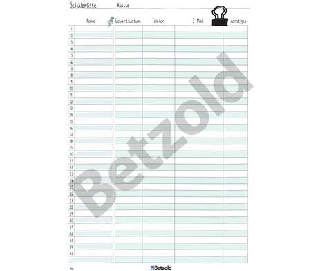 Betzold Design-Schulplaner 2019-2020 Hardcover DIN A5-16