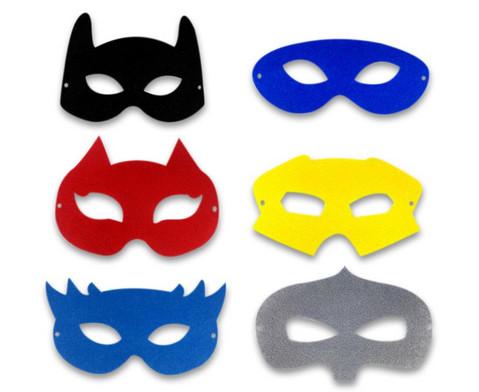 Superheldenmasken 12 Stueck