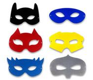 Superheldenmasken, 12 Stück
