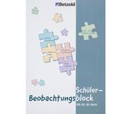 Schüler-Beobachtungsblock DIN A4, 80 Blatt