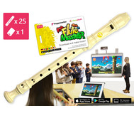 Blockflöten-Kiste Flute Master mit barocker Griffweise