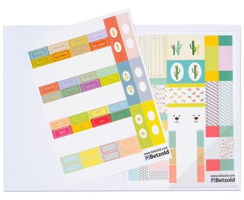 Index-Sticker fuer Kalender und Planer