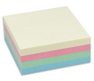 Haftnotizwürfel, 320 Blatt, Pastell Mix