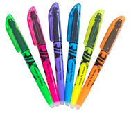 Textmarker FriXion Light, 6er Set