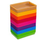treeNside-Materialschalen klein, 5 Stück, verschiedene Farben