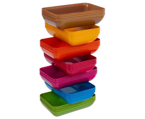 treeNside-Materialschalen gross 5 Stueck verschiedene Farben-2