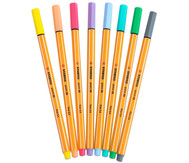 STABILO point 88 Pastellfarben - 8er-Etui