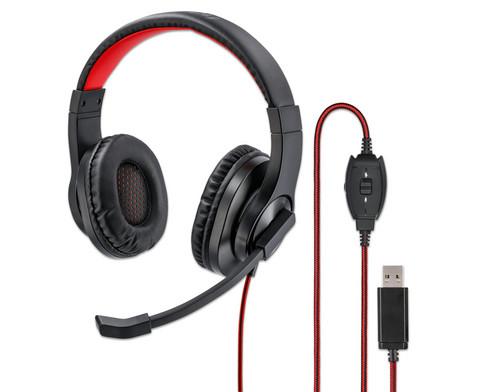 hama PC-Office-Headset HS-USB400 Stereo