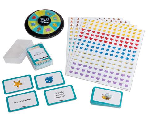 Betzold SPINLEY-Drehscheibe - SET Belohnungskarten