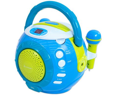 Kinder-CD-Spieler mit Sing-a-long-Funktion