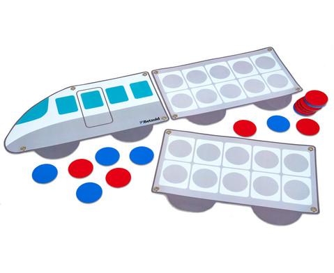 Rechenzug - magnetisches Tafelmaterial