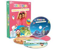 Kinderyoga - Spielerisch entspannte Kids, 3 DVDs