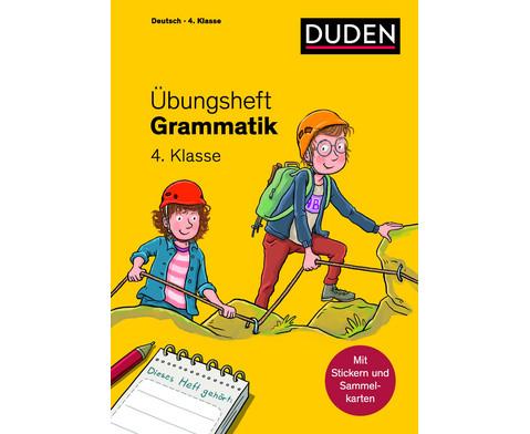 DUDEN UEbungsheft Grammatik 4 Klasse