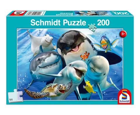 Puzzle Unterwasser-Freunde