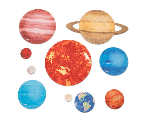 Bodenfliesen Unser Sonnensystem 10er-Set