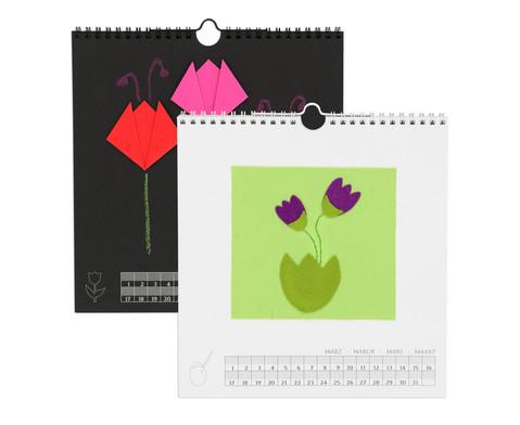 Betzold Blanko-Kalender quadratisch 3 Stueck